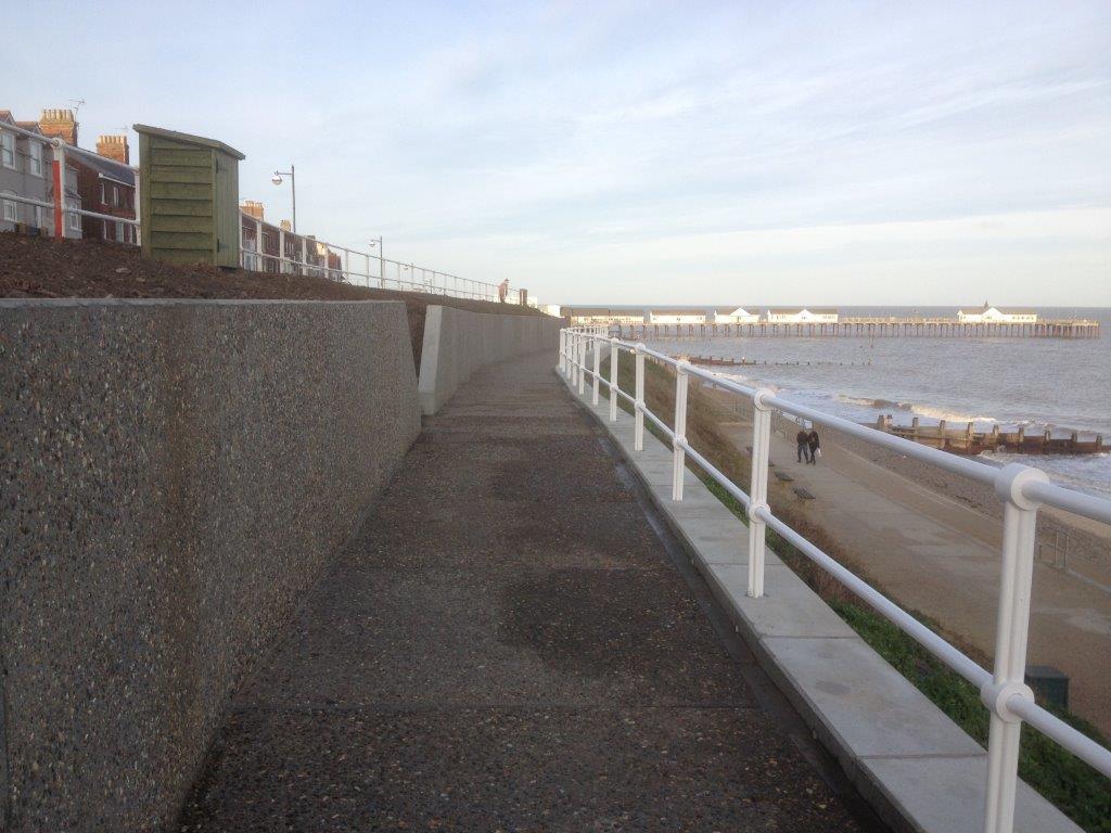 Bespoke concrete panels in Southwold