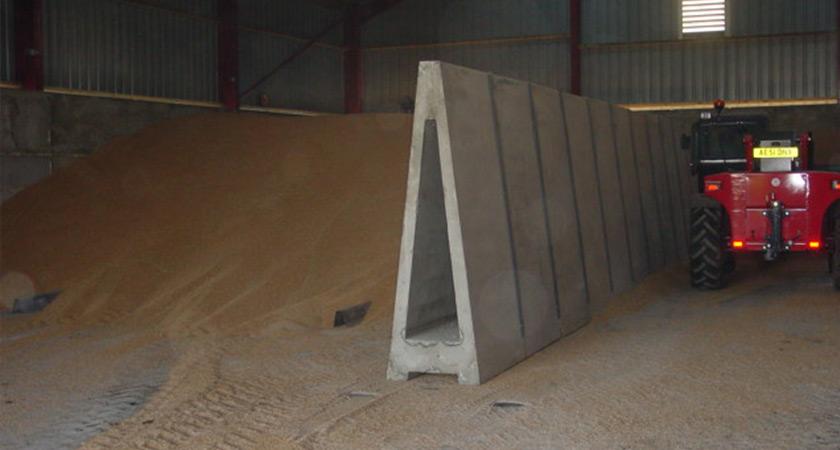 Concrete Retaining Wall Alfabloc 174 Poundfield
