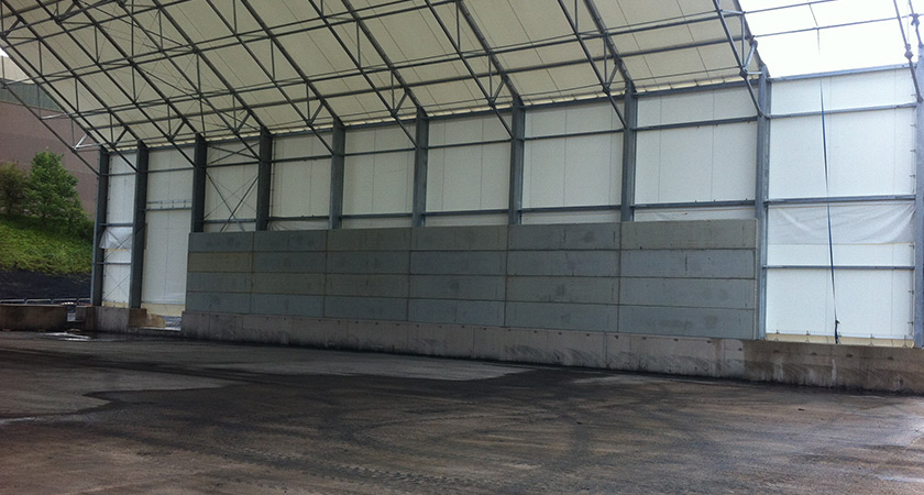 Retaining Wall Prestressed Concrete Panels Poundfield
