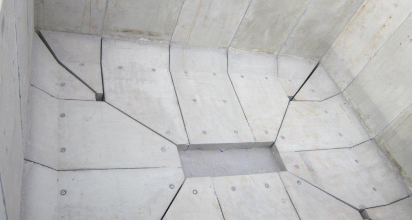 L-bloc® concrete retaining wall