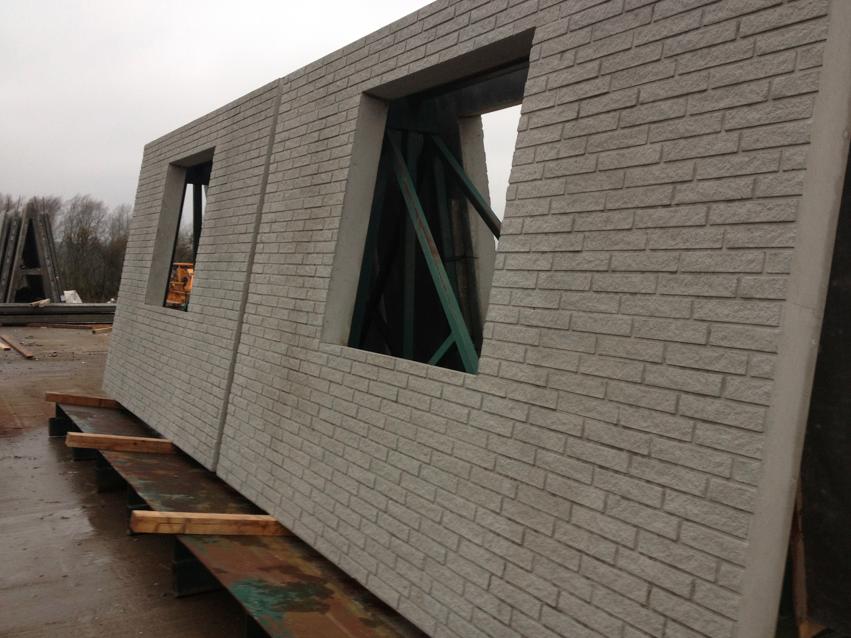 Concrete Brick Faced Unit