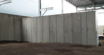 Concrete push walls