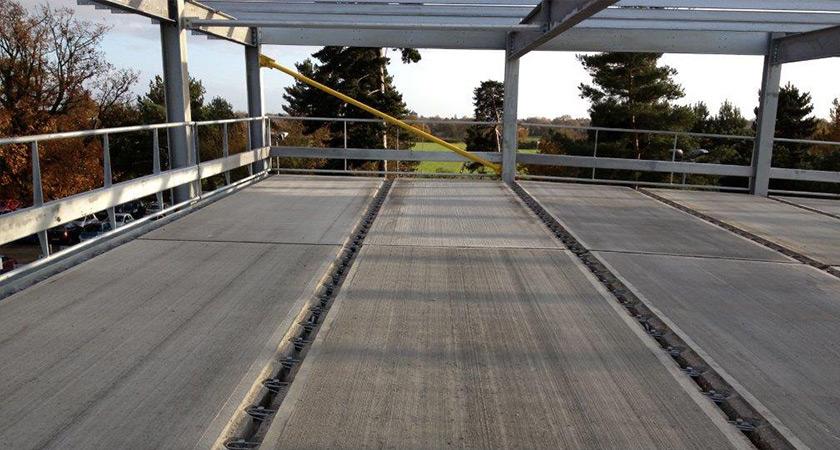 Precast Concrete Car Park Slabs