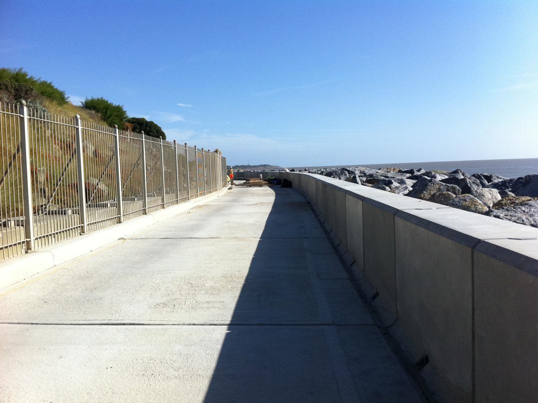 Concrete Sea defences