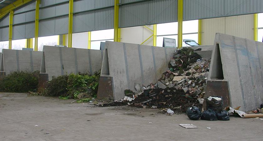 Concrete Push Wall Design : Waste management concrete products poundfield