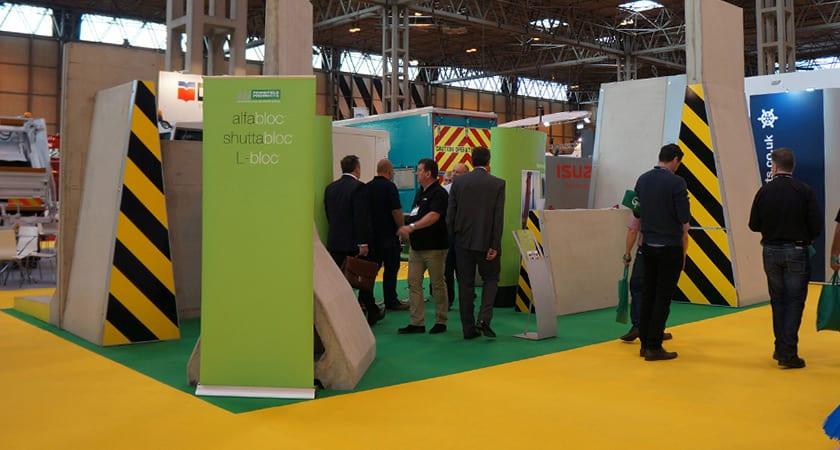 Concrete Product Waste Management Exhibition