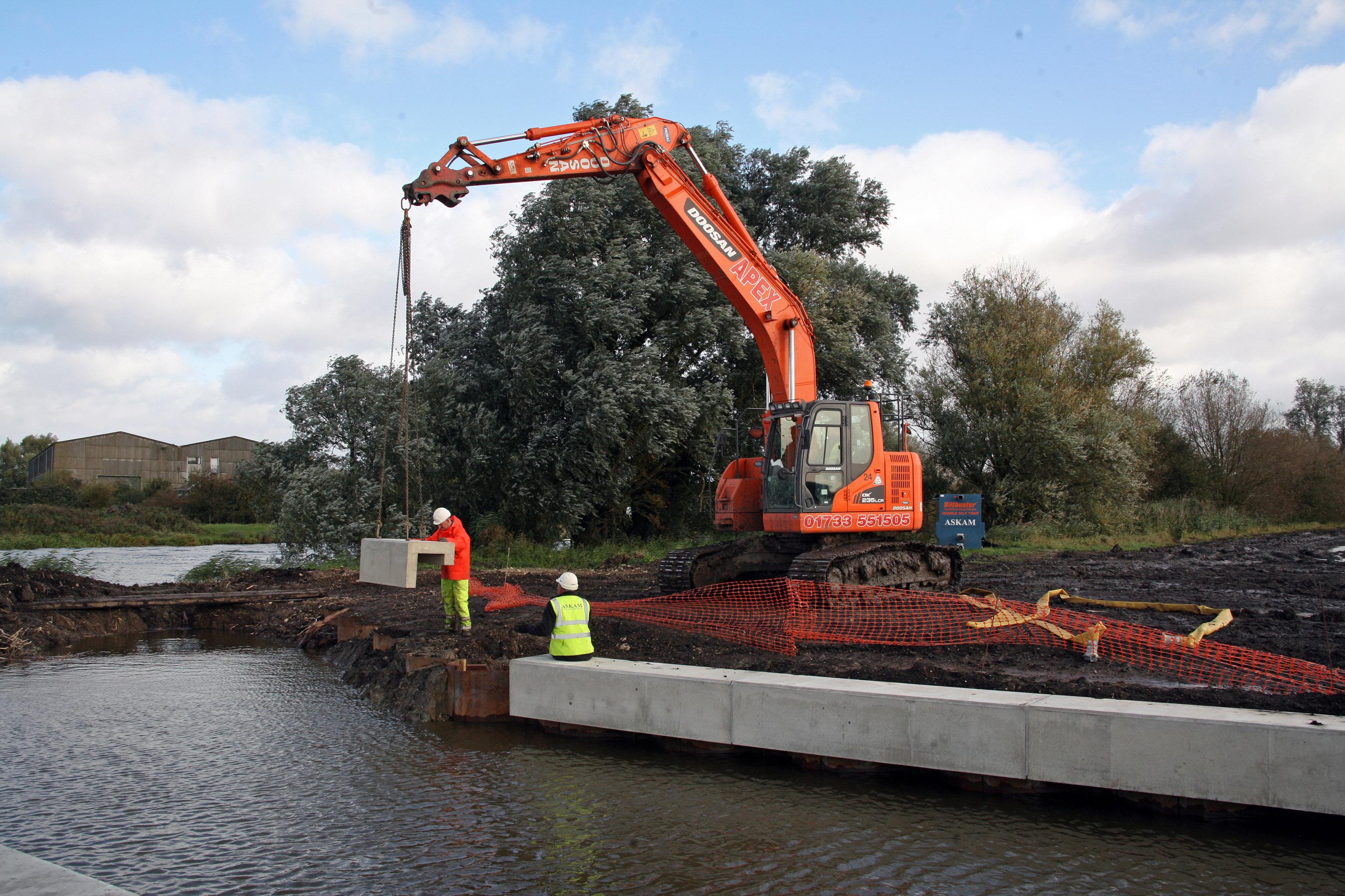 Poundfield Supplies Bespoke Precast Concrete Capping Beams