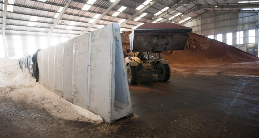 Concrete Push Wall Design : Poundfield supplies over retaining wall components