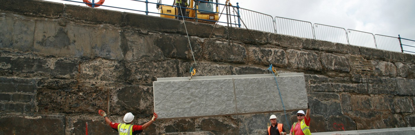 Poundfield Products Concrete Retaining Wall Specialists