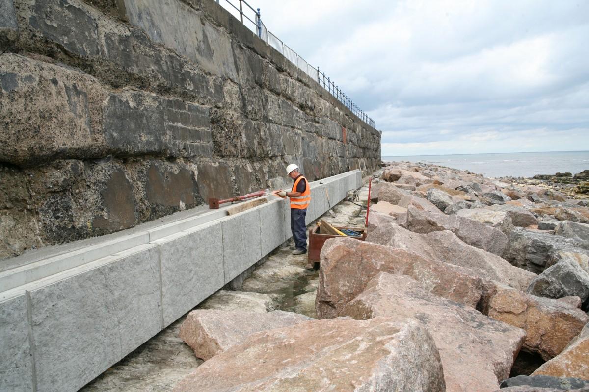 Marine And Coastal Defence Wall