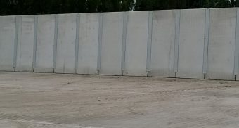 Versatile Concrete Retaining Walls chosen for dual use at Polypipe