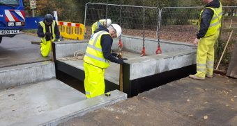 Poundfield supplies Concrete cattle grid components to speed installation