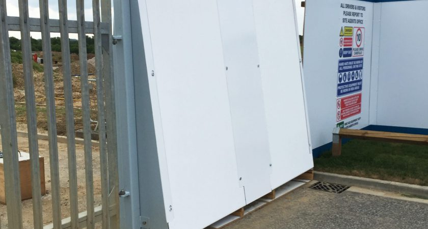 Alfabloc used as Security Walling
