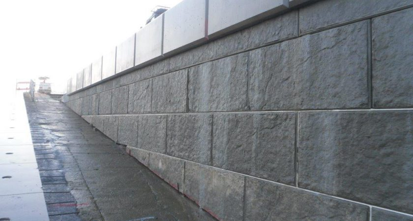 precast concrete marine and coastal sea defence walls