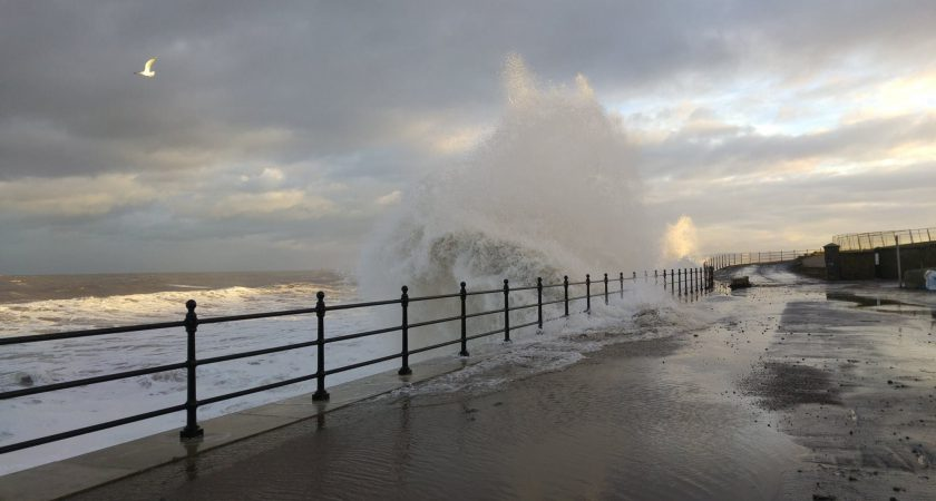 Storm at Hartlepool