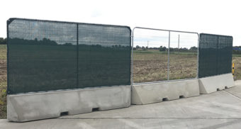 Alfastop® concrete security walling