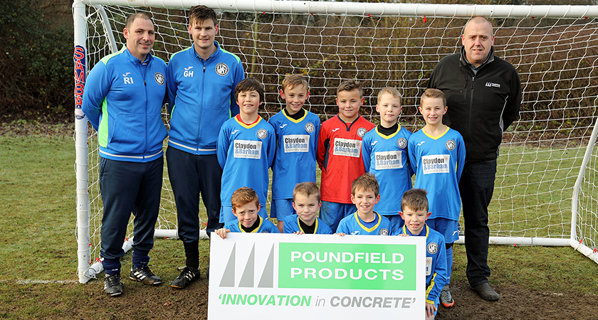 Poundfield Products And Barham Athletic Football Club Under 9's
