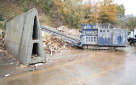 Alfablocs at Sackers Recycling, Suffolk
