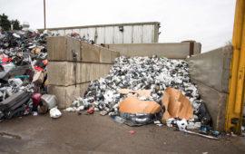 Betaloc Blocks at Sackers Recycling, Suffolk