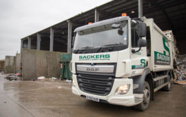 Sackers Recycling Lorry