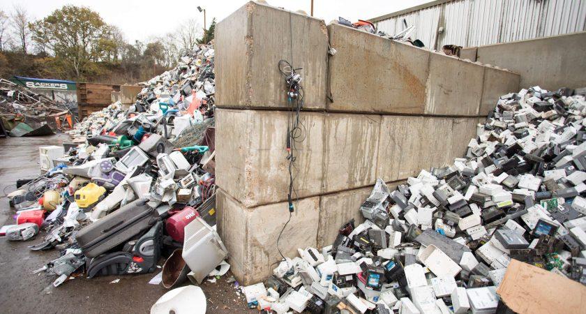 Betaloc XL Blocks at Sackers Recycling, Suffolk