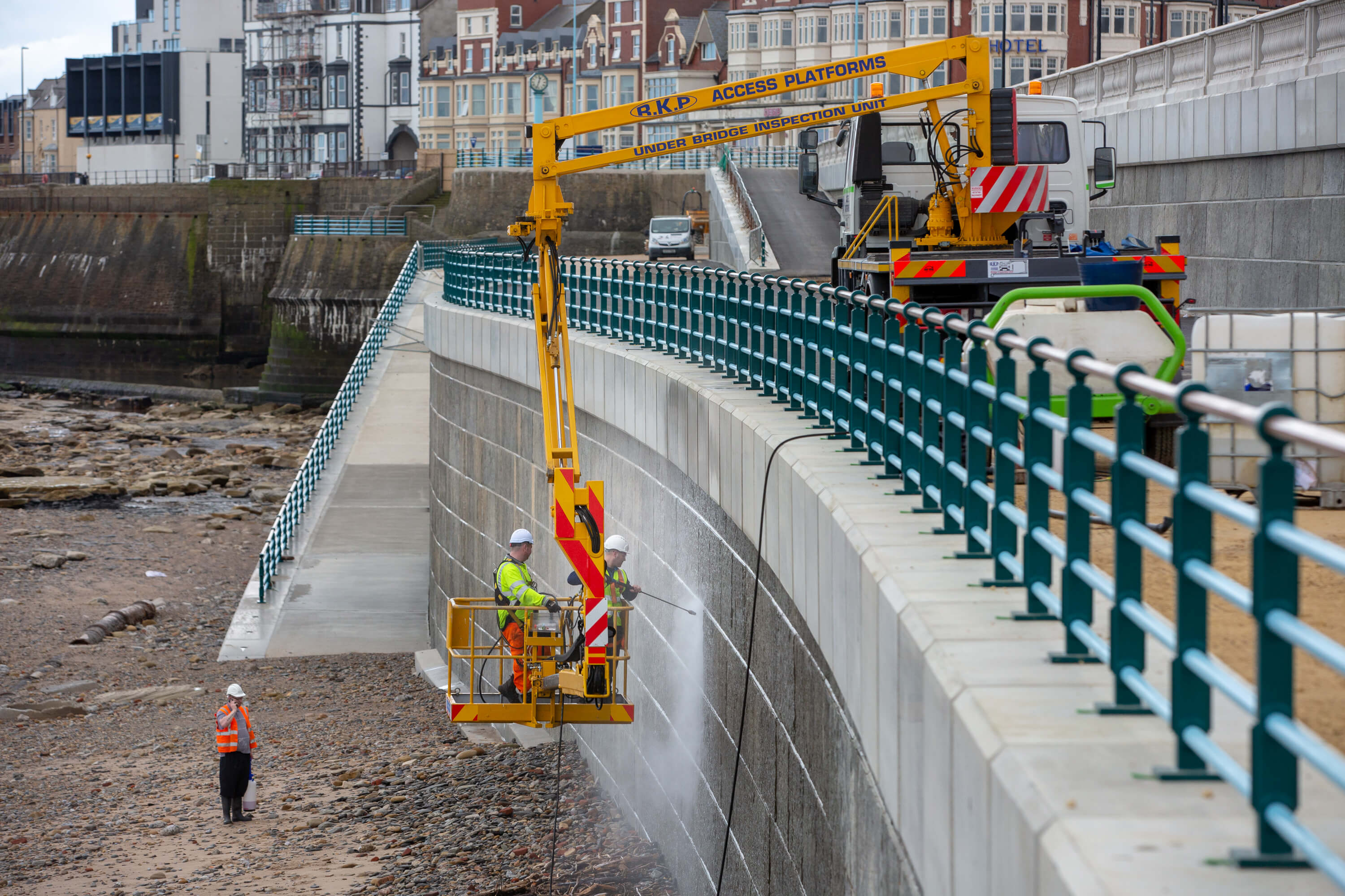 Prestigious award for Whitley Bay Sea Defence project