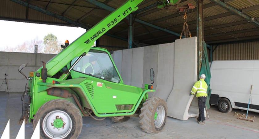 Precast Concrete Retaining Wall