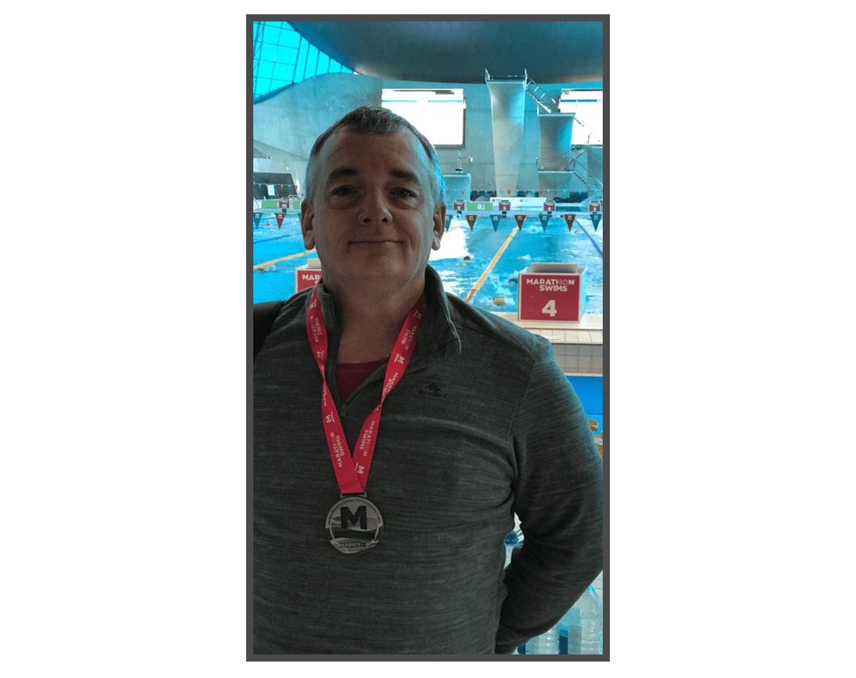 Charity swim