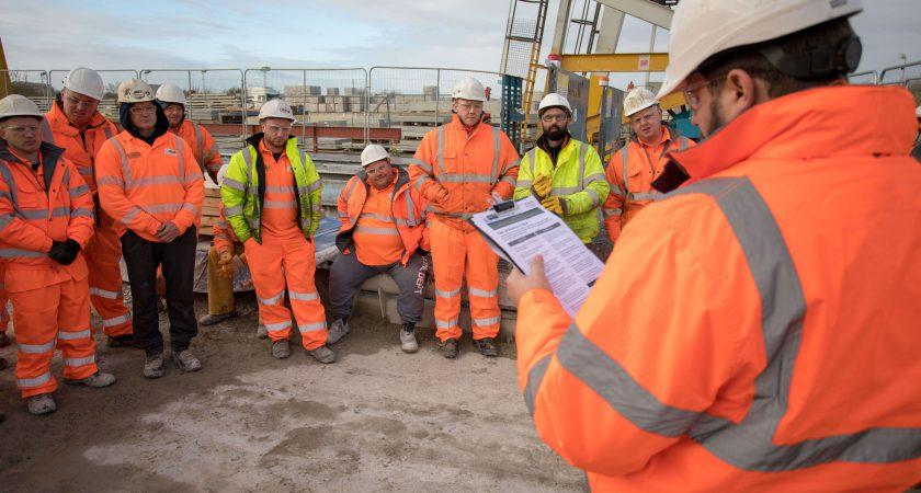 Safe Start Day at precast concrete manufacturer Poundfield Precast