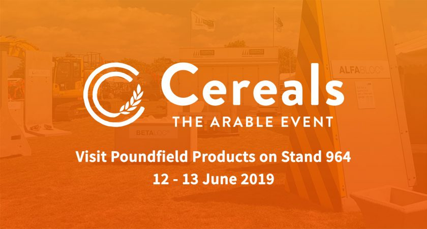 Poundfield Products attending Cereals 2019