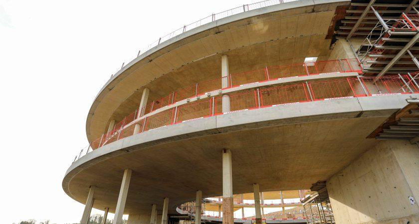 Lime Wood Free School : Precast Exterior Ring Beams