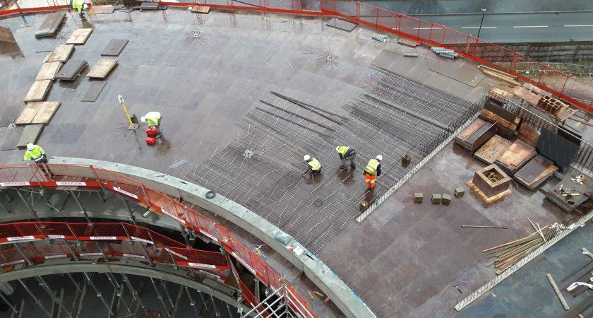 Precast exterior concrete