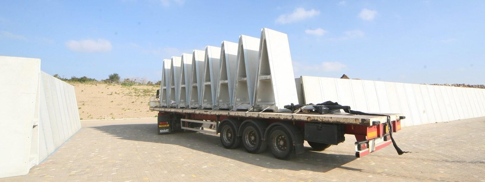 Alfabloc® : Freestanding Precast Concrete Wall System