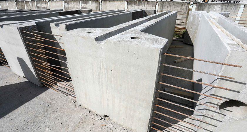Concrete Precast Retaining Wall