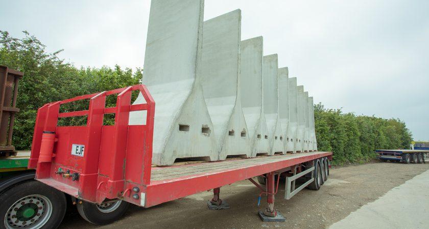 Taperbloc™ XL Freestanding Precast Concrete Retaining Wall
