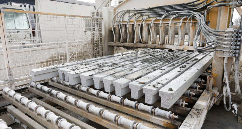 Concrete Beams Cut
